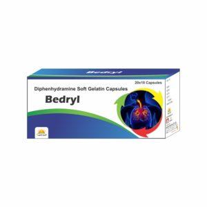BEDRYL CAPS